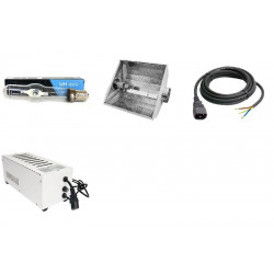 KIT Eclairage Magnetic 400W Superplant - 16 - Ballast+Ampoule+Reflecteur