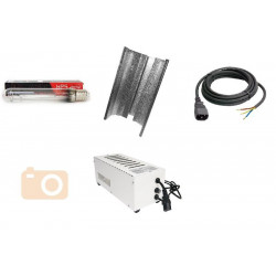 KIT Eclairage Magnetic 400W Superplant - 20 - Ballast+Ampoule+Reflecteur