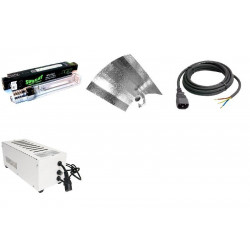 KIT Eclairage Magnetic 400W Superplant - 28 - Ballast+Ampoule+Reflecteur