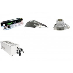 KIT Eclairage Magnetic 400W Superplant - 30 - Ballast+Ampoule+Reflecteur