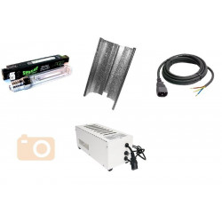 KIT Eclairage Magnetic 400W Superplant - 29 - Ballast+Ampoule+Reflecteur