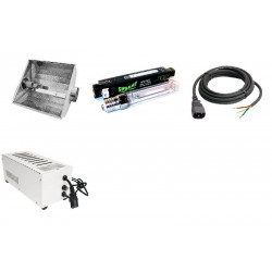 KIT Eclairage Magnetic 400W Superplant - 34 - Ballast+Ampoule+Reflecteur