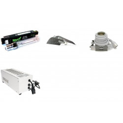 KIT Eclairage Magnetic 400W Superplant - 36 - Ballast+Ampoule+Reflecteur