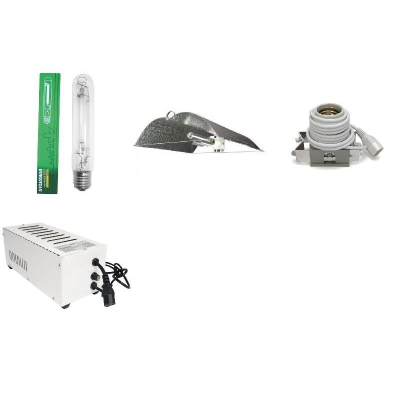 KIT Eclairage Magnetic 400W Superplant - 39 - Ballast+Ampoule+Reflecteur