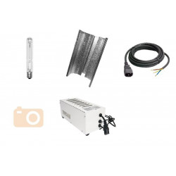 KIT Eclairage Magnetic 400W Superplant - 47 - Ballast+Ampoule+Reflecteur