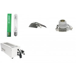 KIT Eclairage Magnetic 400W Superplant - 45 - Ballast+Ampoule+Reflecteur