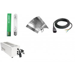 KIT 400W SUPERPLANT GROLUX STUCCO AVEC CABLES