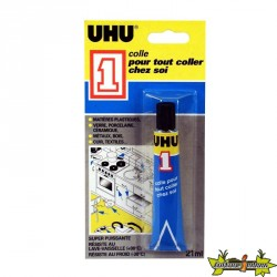 54494 UHU COLLE UHU 1 MULTI REPARATION 21 ML