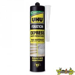 UHU - Fixation Express Haute Résistance Blanc - Cartouche 370 g