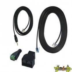 TROLMASTER ECS-2 RJ12 TO 3.5 JACK CONVERTOR CABLE SET