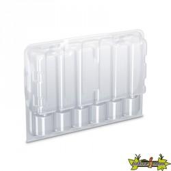 Boîte de transport transparente pour 12 boutures - 244 x 160 x 87 mm