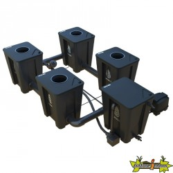 RDWC SYSTEM 2 ROWS LARGE 4+1 WITH TUBOFLEX DIFFUSER