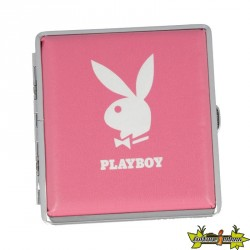PLAYBOY - ETUI A CIGARETTES ROSE & LAPIN BLANC