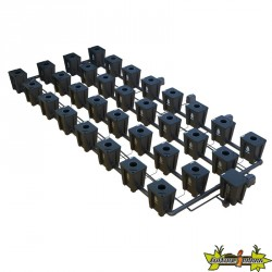 RDWC SYSTEM 4 ROWS LARGE 32+1 WITH TUBOFLEX DIFFUSER