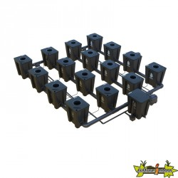 RDWC SYSTEM 4 ROWS LARGE 16+1 WITH TUBOFLEX DIFFUSER