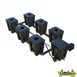 RDWC SYSTEM 2 ROWS LARGE 6+1 WITH TUBOFLEX DIFFUSER
