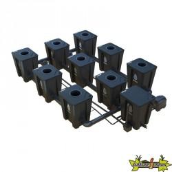RDWC SYSTEM 3 ROWS LARGE 9+1 CON DIFFUSORE TUBOFLEX