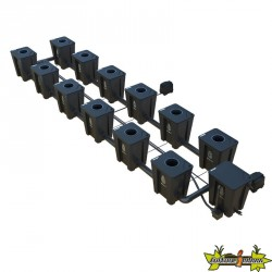 RDWC SYSTEM 2 ROWS LARGE 12+1 WITH TUBOFLEX DIFFUSER
