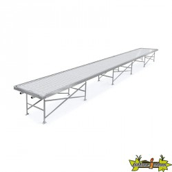 ROLLING BENCH 1.22 X 5.49M (TRAY A COLLER)