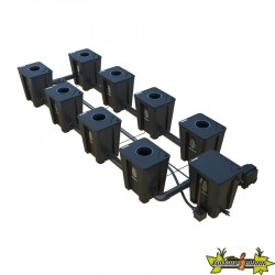 RDWC SYSTEM 2 ROWS LARGE 8+1 WITH TUBOFLEX DIFFUSER