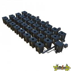 RDWC SYSTEM 4 ROWS ORIGINAL 32+1 WITH TUBOFLEX DIFFUSER