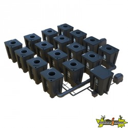RDWC SYSTEM 4 ROWS ORIGINAL 16+1 WITH TUBOFLEX DIFFUSER