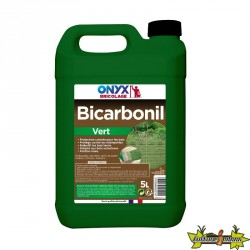 Onyx - Bibicarbonil vert protection bois extérieur 5l -