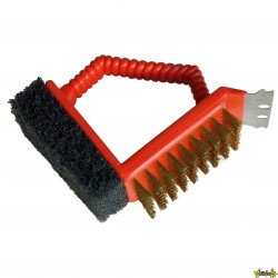 Barbecook - Brosse barbecue 3 en 1
