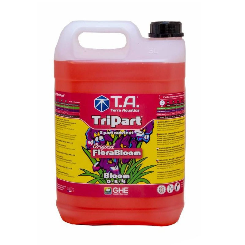 GHE - Engrais Tripart Bloom 5L General Hydroponics - (FloraBloom)