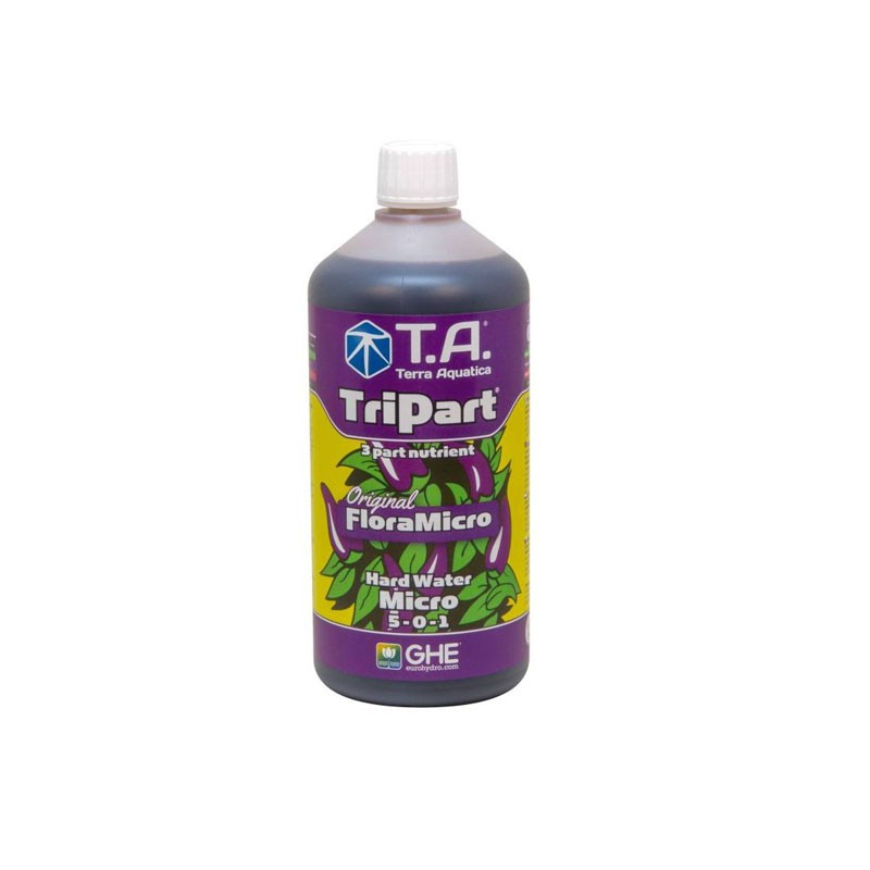 GHE - Engrais TripartMicro eau dure 500ml (Flora Micro)