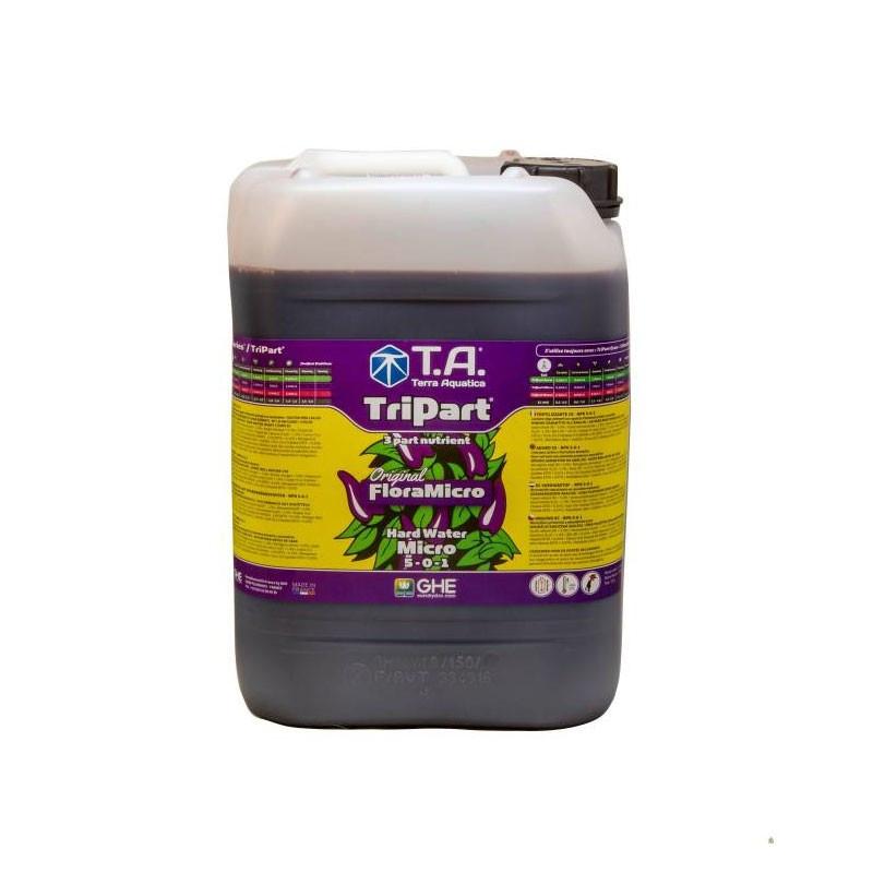 GHE - Engrais TripartMicro eau dure 5L (Flora Micro)