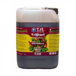GHE - Engrais TripartMicro eau douce 10L (Flora Micro)