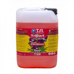GHE - Engrais Tripart Bloom 10L (Florabloom)