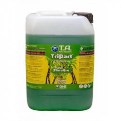 GHE - Engrais Tripart Grow 10L, (Floragro)