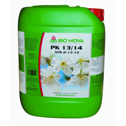 engrais Bio nova PK 13/14 5L , booster de floraison et explosion florale