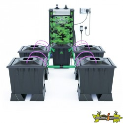 ALIEN AERO BLACK 4POTS 30L RESERVOIR 120L