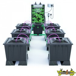 ALIEN AERO BLACK 6POTS 30L RESERVOIR 120L