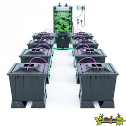 ALIEN AERO BLACK 8POTS 30L RESERVOIR 120L