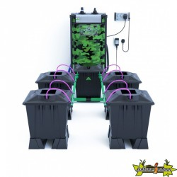ALIEN AERO BLACK 4POTS 15L RESERVOIR 120L