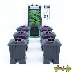 ALIEN AERO BLACK 6POTS 15L RESERVOIR 120L