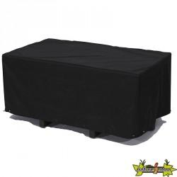HOUSSE DE PROTECTION POUR TABLE 210X105CM - NOIR
