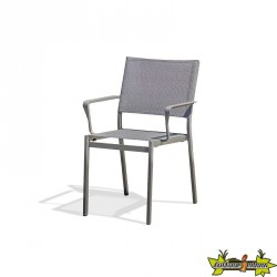 FAUTEUIL EMPILABLE STOCKHOLM GRIS ANTH