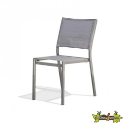 CHAISE EMPILABLE STOCKHOLM GRIS ANTH