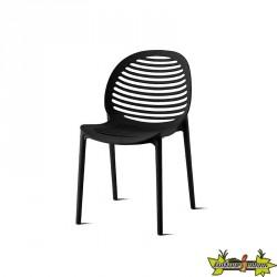 DCB - Chaise Olbia - Noir