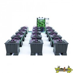ALIEN AERO BLACK 15POTS 30L RESERVOIR 280L