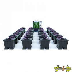 ALIEN AERO BLACK 24POTS 30L RESERVOIR 280L