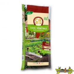 OR BRUN TERRE VEGETALE FERTIL. 30L 25KGS