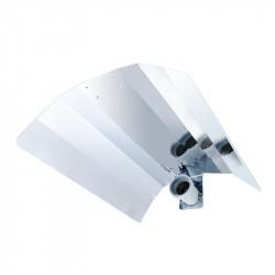 Réflecteurs miroir 50x40cm, douille E40, pour hps ou mh 250 à 1000w