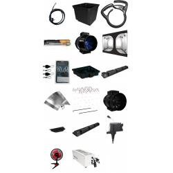 pack Blackbox Silver Chambre de Culture - Pack BBS V1 240X240 Hydro Eco - 240x240x220 cm