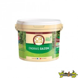 OR BRUN ENGRAIS GAZON SEAU DE 4KGS